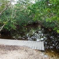Départ de trail pour Canoë