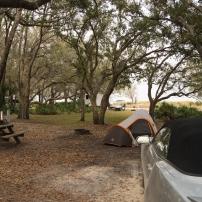 Campement du soir à Kissimmee