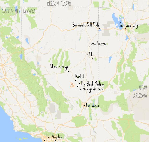 Z51 map